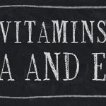 KH. Vitamin A va E